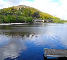 Lodge on Loch Lomond by alanf1