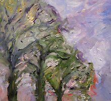 Broughton Street, Stormy Morning by Julie-Ann Vellios