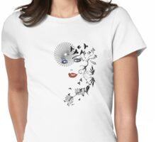 'Lovely' Womens Fitted T-Shirt