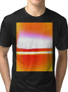 Red Sunrise Tri-blend T-Shirt