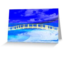 Bridge Over Troubled Water- Art + products Design  Greeting Card
