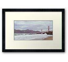 Golden Gate Brdige Framed Print