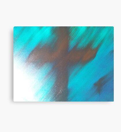 blury faith Canvas Print