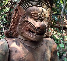 Terracotta Sculpture, Chiang Mai, Thailand by JonathaninBali