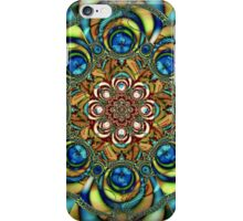 Sapphire Embroidery iPhone Case/Skin