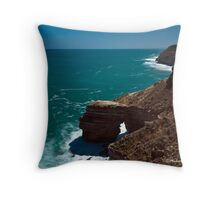 Natural Bridge, Kalbarri, WA Throw Pillow