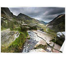 North Wales: Pass of Llanberis Poster
