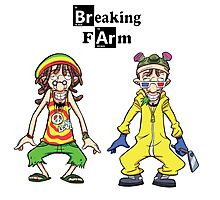Breaking Farm evolution Photographic Print