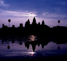 Angkor Wat Dawn by Adam Martin