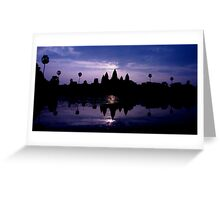 Angkor Wat Dawn Greeting Card
