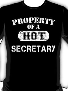 Property Of A Hot Secretary - Limited Edition Tshirt T-Shirt