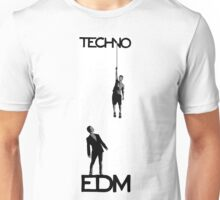Techno vs EDM Unisex T-Shirt