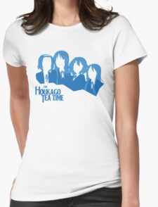 The Houkago Tea Time Womens Fitted T-Shirt