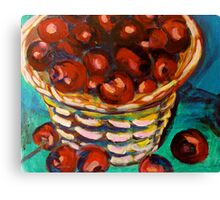 basket of cheer Canvas Print