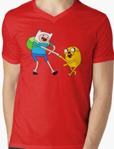 AAAAAADVENTURE TIME! Mens V-Neck T-Shirt