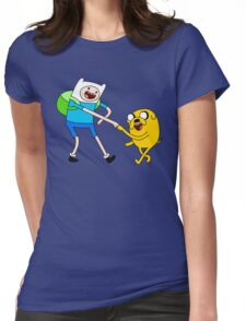 AAAAAADVENTURE TIME! Womens Fitted T-Shirt