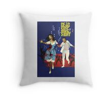 Dead Side Story Throw Pillow