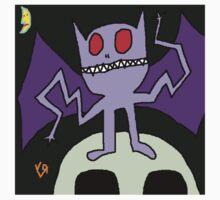 """Wacky Bat"" by Richard F. Yates One Piece - Short Sleeve"