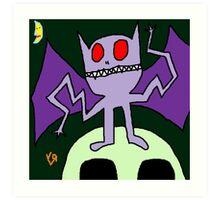 """""""Wacky Bat"""" by Richard F. Yates Art Print"""