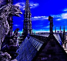 Notre Dame Cathedral Paris Fine Art Print by stockfineart