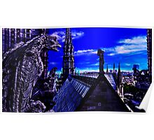 Notre Dame Cathedral Paris Fine Art Print Poster
