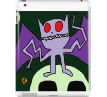 """Wacky Bat"" by Richard F. Yates iPad Case/Skin"