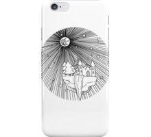 Floating Island / BLACK iPhone Case/Skin