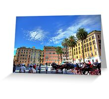 Spanish steps square Greeting Card
