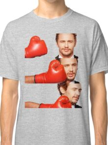 James Franco gets the humor knocked out of him Classic T-Shirt