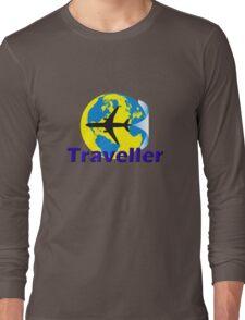 Traveller Tee-Shirt and Stickers Long Sleeve T-Shirt