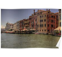 Canal of Venice 5 Poster