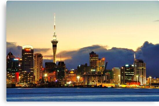 Auckland port by bryaniceman