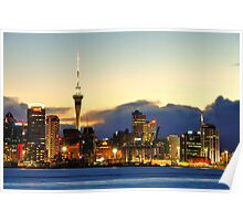 Auckland port Poster