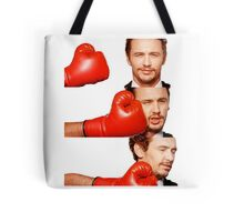 James Franco gets the humor knocked out of him Tote Bag