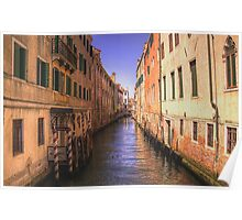 Canal in Venice 4 Poster