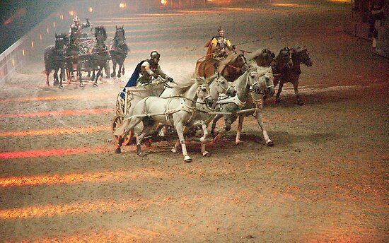 Ben Hur: The Chariot Race.  by DonDavisUK