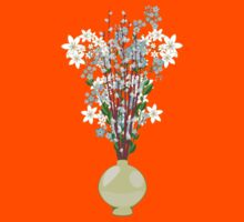Spring flowers in a Vase Kids Clothes