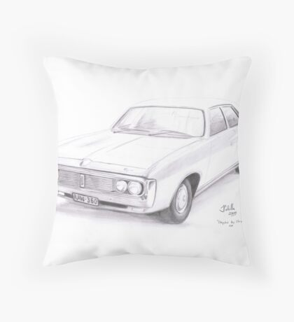 Chrysler by Chrysler Throw Pillow
