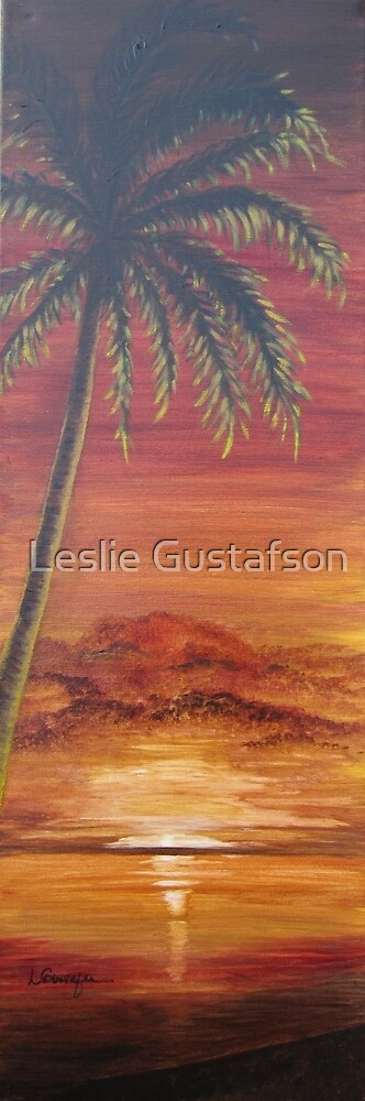 Mallory's Sunset by Leslie Gustafson