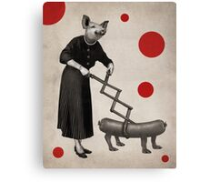 Anthropomorphic N°17 Canvas Print
