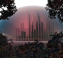 Ragnarok City by Sazzart