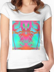 Tropical Walks Women's Fitted Scoop T-Shirt