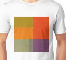 Red and Green Abstract Unisex T-Shirt
