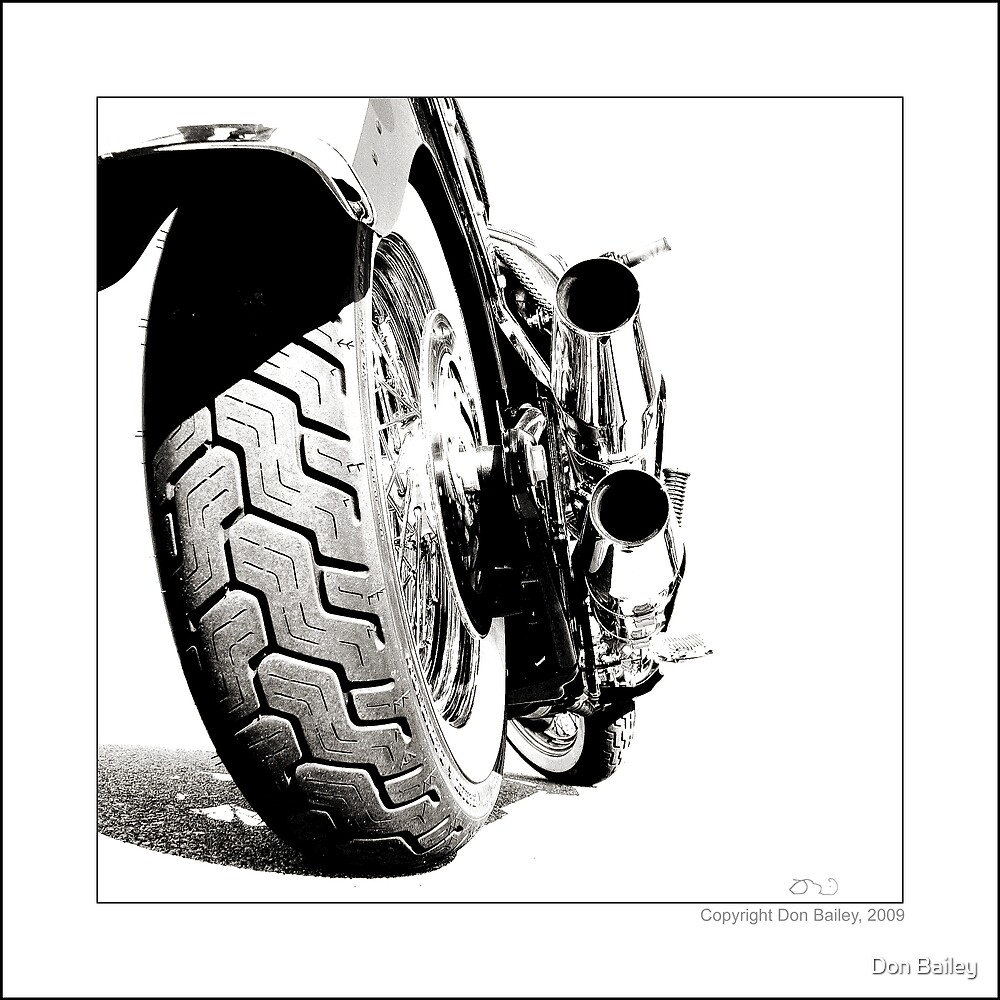 """""""Harley-Davidson Deluxe"""" by Don Bailey"""