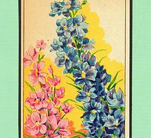 Vintage French Seed Packet by Melissa Schuppe