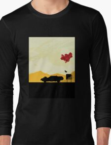 Fury Road - silhouette Long Sleeve T-Shirt