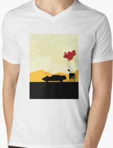 Fury Road - silhouette Mens V-Neck T-Shirt