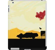 Fury Road - silhouette iPad Case/Skin
