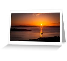 Largs to Millport Greeting Card