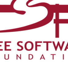 Free Software Foundation Sticker